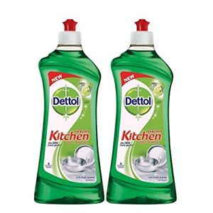Dettol Lime Splash Healthy Kitchen Dish and Slab Gel