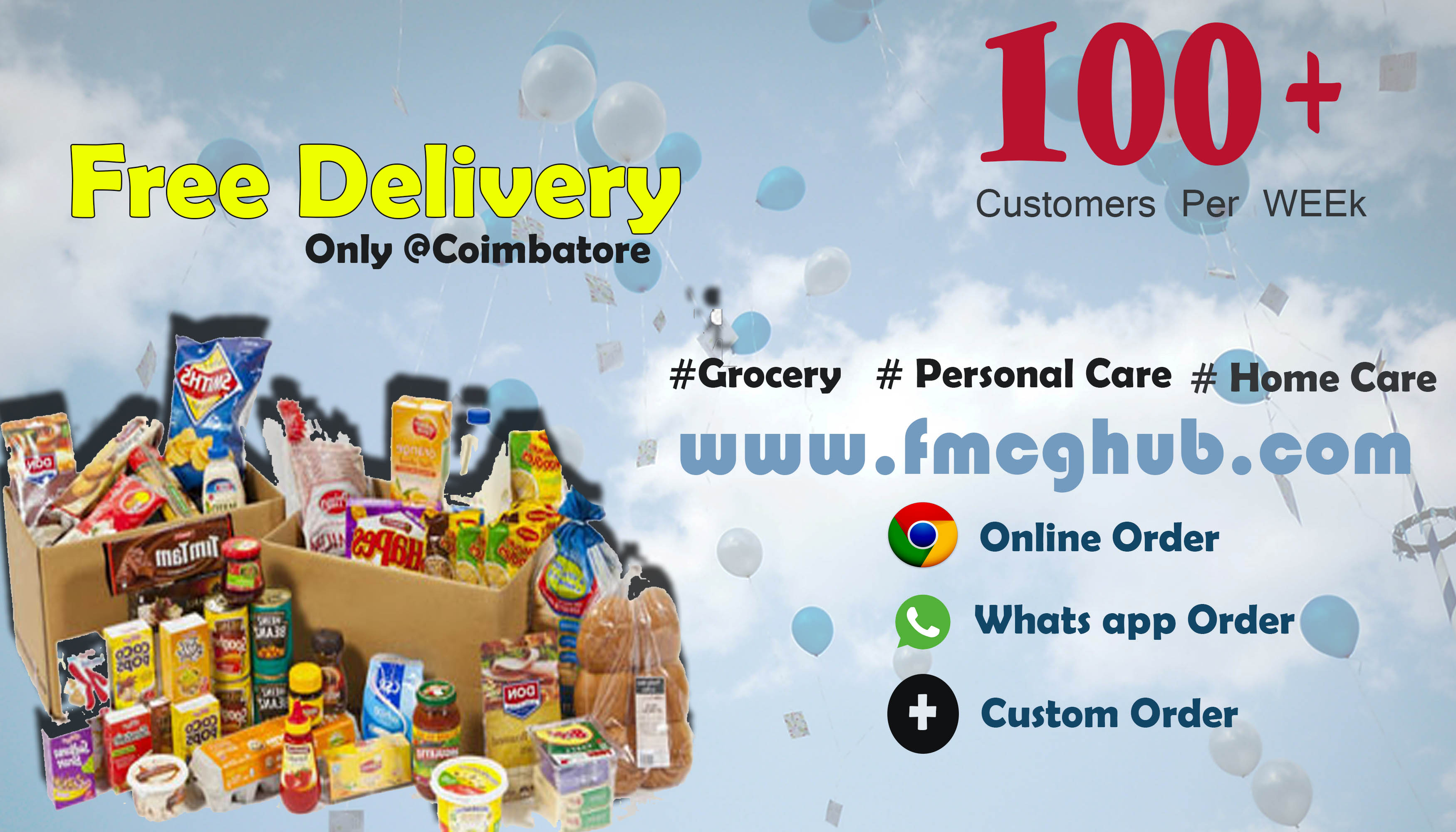 Free delivery service in Coimbatore