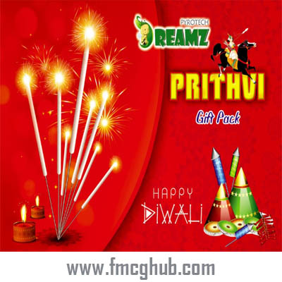 Prithvi Gift Pack – 25 Crackers