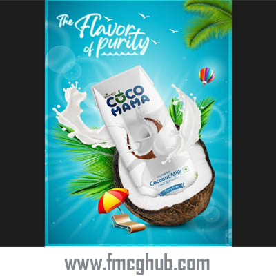 Cocomama Coconut Water 250 ml Tetrapak