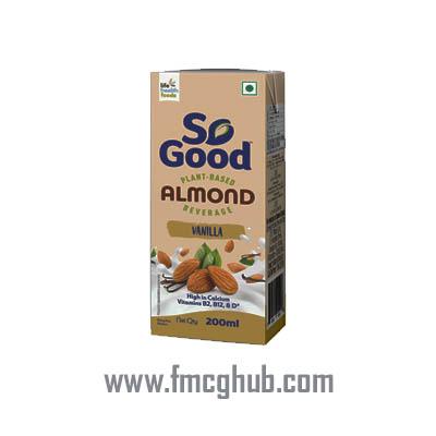 So Good Almond Fresh Vanilla