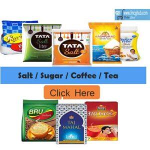 Salt, Sugar, Coffee. Tea